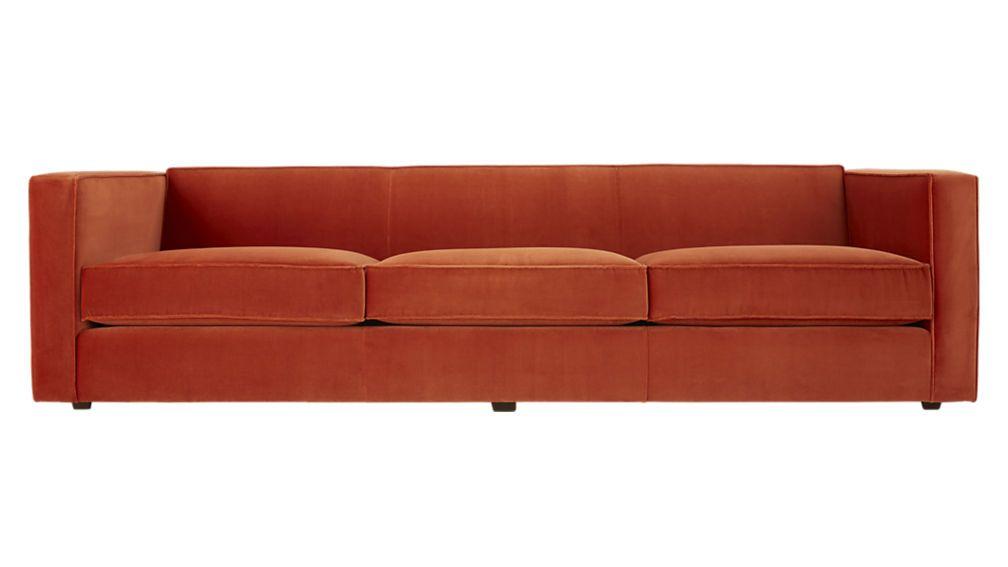 Velvet Sofa Modern