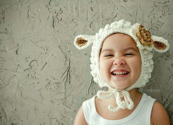 Agnello, cappello animale per i bambini, bambini cappello ...