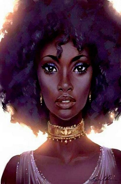 Pin By Sweet Scapes On Black Girl Magic Black Girl Art