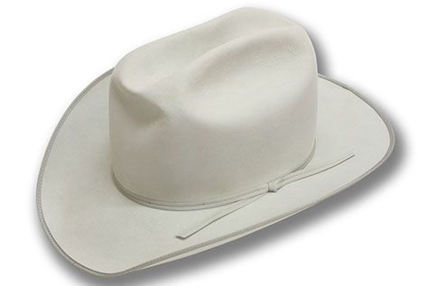 db4d92aea Short brimmed silverbelly cowboy hat. Spradley Hats | Alpine, Texas ...