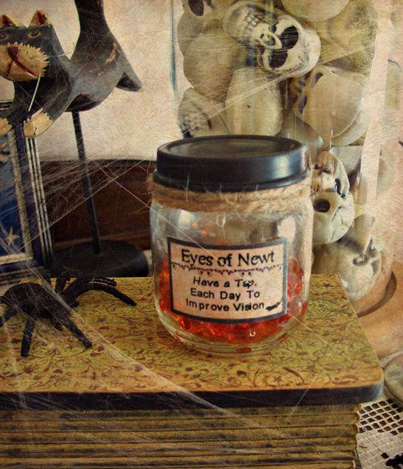 Halloween Mad Scientist Apothecary Lab Prop Newt by ATouchOfFright - mad scientist halloween decorations