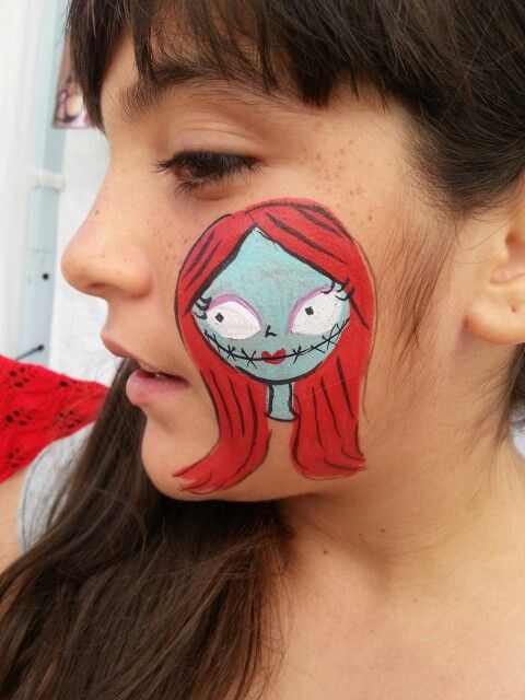 Sally -The Nightmare Before Christmas - Disney face painting ...