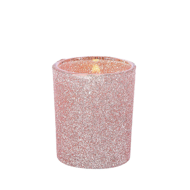 Champagne Glitter Votive Holders | Pinterest | Rose gold glitter ...