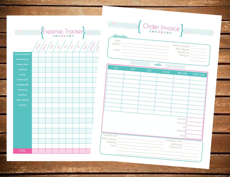Expense Tracker - Direct Sales Party Planner | Avon | Pinterest ...