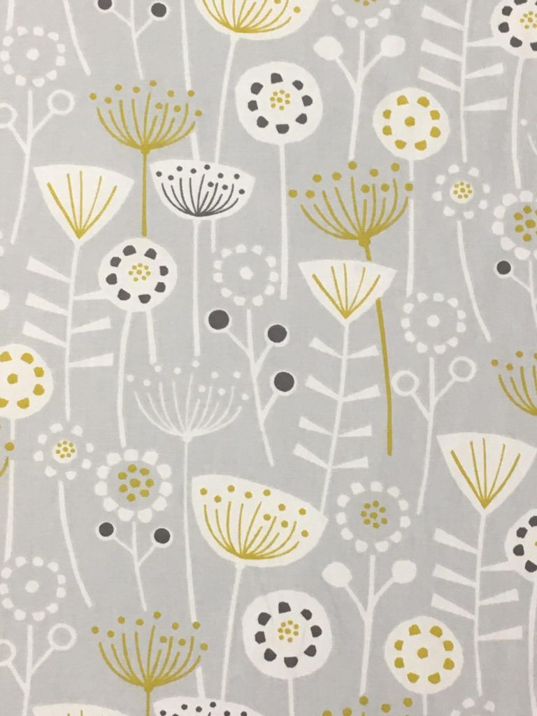 Bergen Grey With Images Retro Curtains Fabric Shops Online