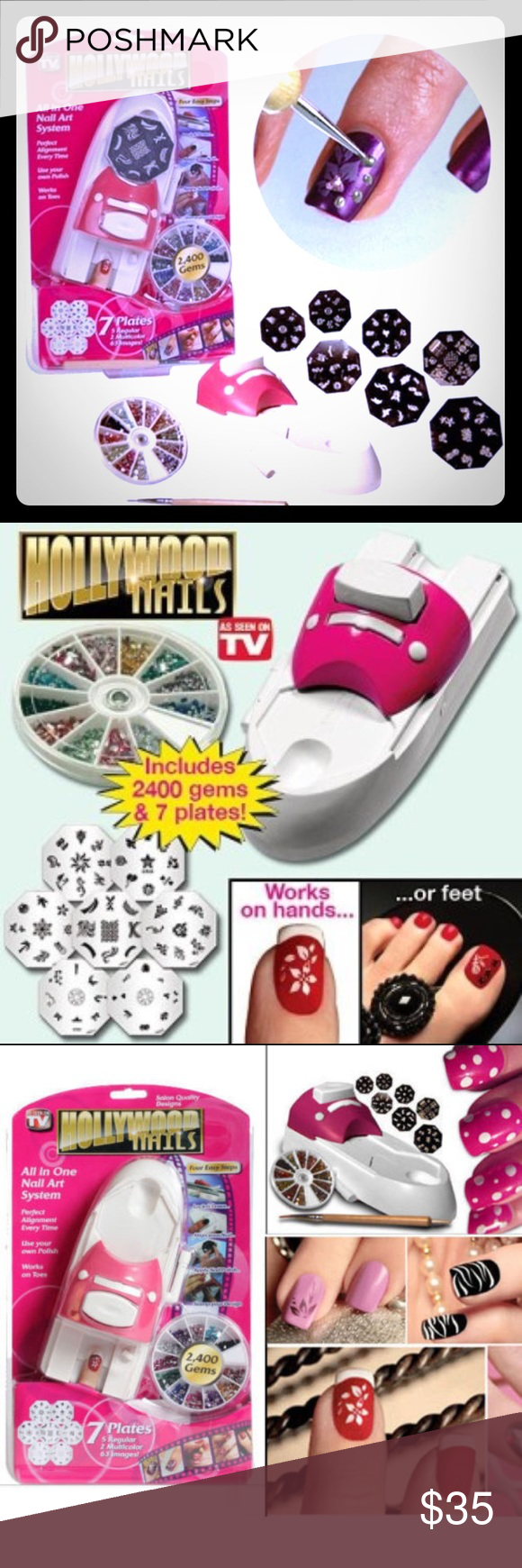 Hollywood Nails Price Drop Nwt Tool Set Drop And Fashion