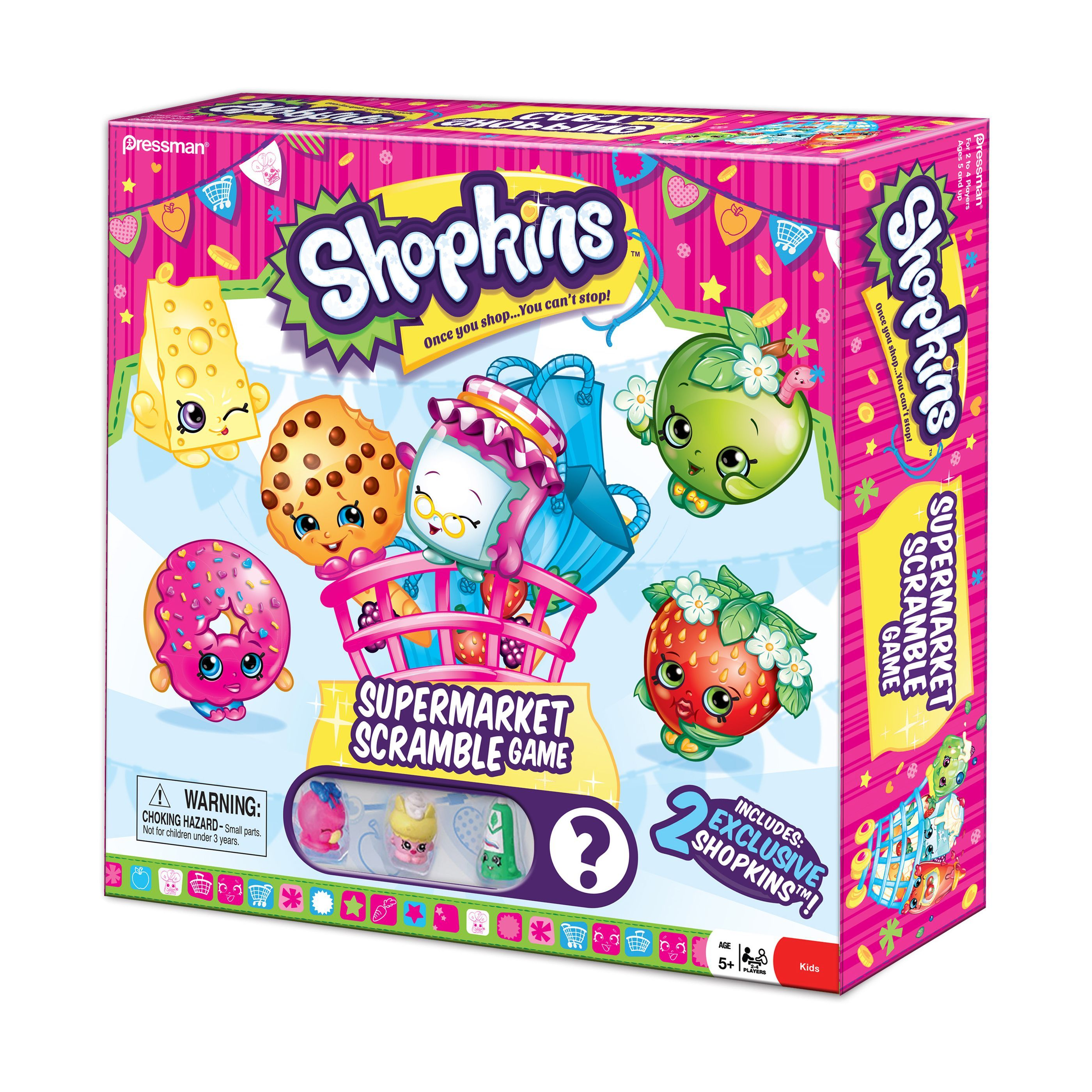 SHOPKINS Make A Match Memory Game With 1 Exclusive Shopkins Miss Candy