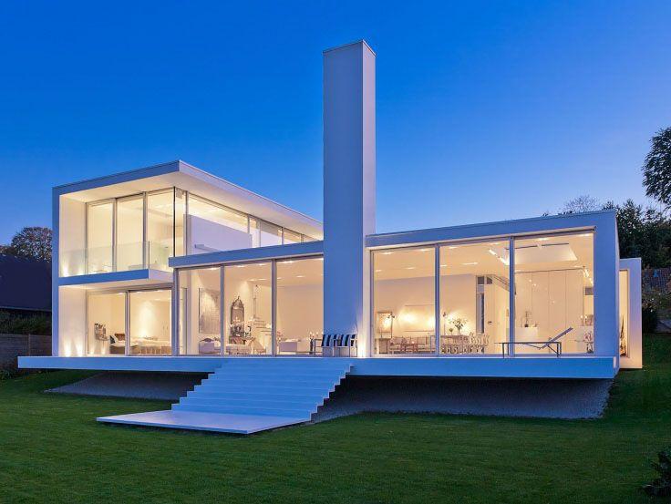 sch ne villa am meer in d nemark von lars gitz architekten architecture pinterest. Black Bedroom Furniture Sets. Home Design Ideas