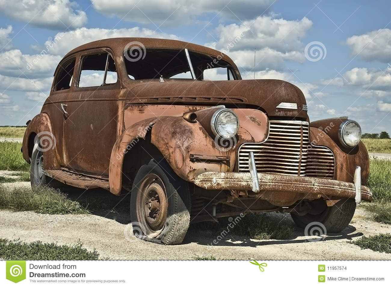 Antique Rusty Old Car Stock Images - Image: 11957574 | *Rusty Metal ...