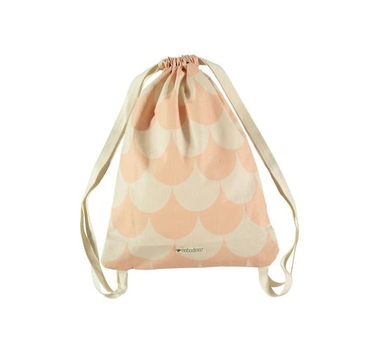 Backpack Florencia pink scales