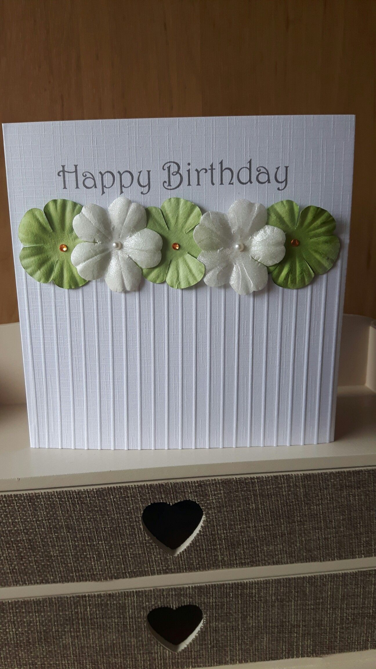 Clean and fresh birthday card cards pinterest cards clean and fresh birthday card izmirmasajfo Images