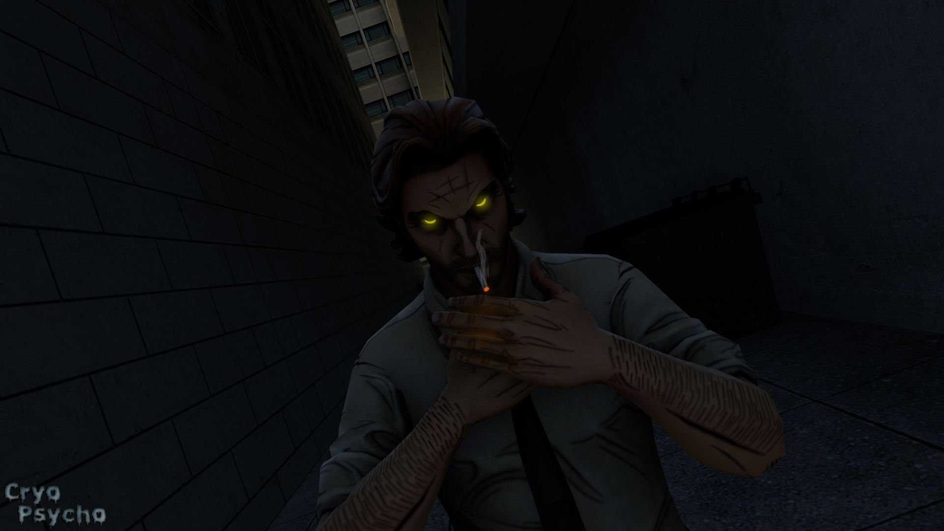 El Fondo De Pantalla Wolf Among Us Bigby Wolf Por Cryo Psycho The Wolf Among Us Wolf Wallpaper