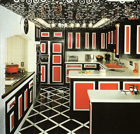 Kitchen Colors Of The 50 S 60 S And 70 S Vintage Interior