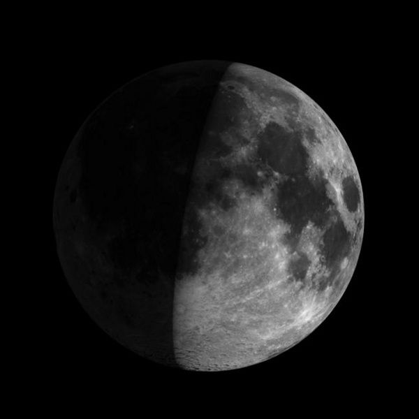 A First Quarter Moon Rises At Noon And Is Highest At Sunset This