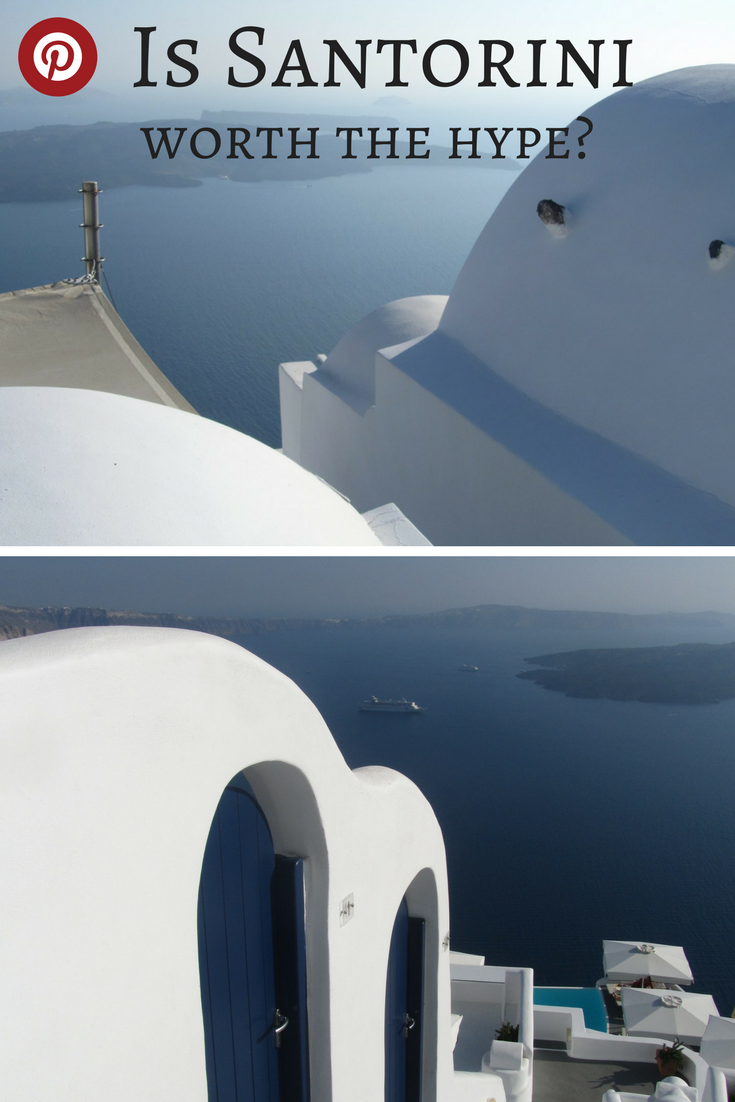 Is Santorini worth the hype? The Greek island of Santorini is regularly voted one of the most beautiful places in the world but is it really all that amazing, and should it be top of your travel wishlist? Find out whether it's as beautiful as they say or whether it's just another overcrowded, touristy island where you can't move for selfie sticks and crowds. #santorini #bestgreekislands #issantoriniworthit #overhypedtouristdestinations #familytravelgreece