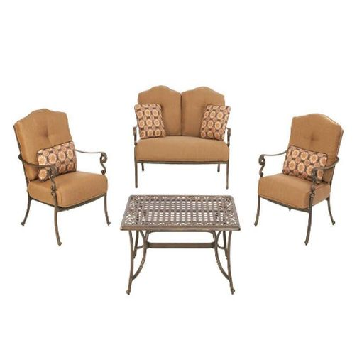 Miramar Ii Conversation Replacement Cushion Set Outdoor Furniture Cushions Outdoor Lounge Furniture Patio Seating Sets