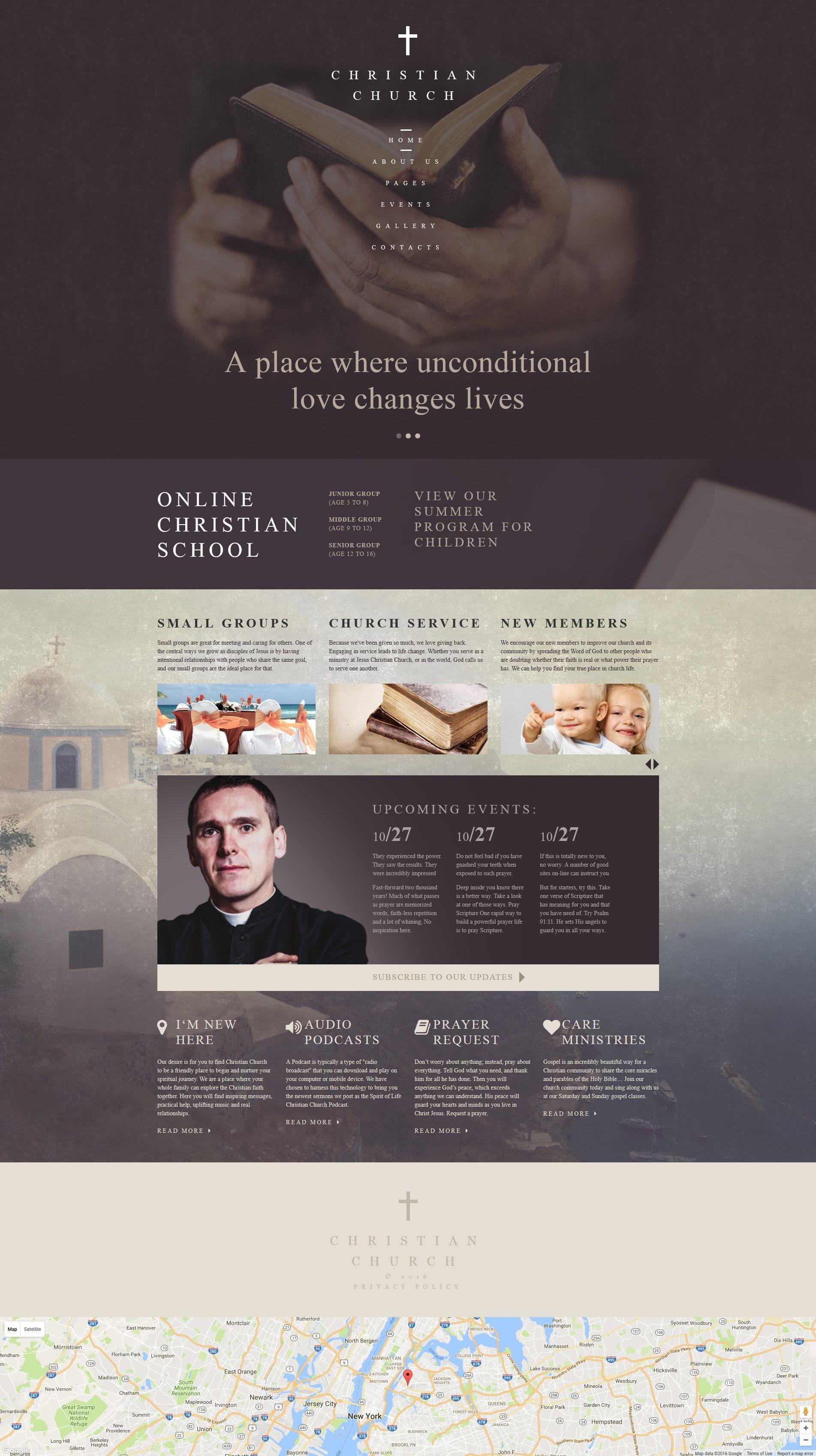 Christian Church - Religious & Non-Profit Joomla Template ...