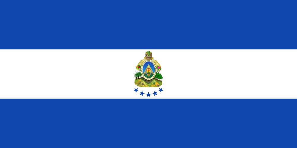Flag Of Honduras Honduras Flag Honduras Honduras Travel