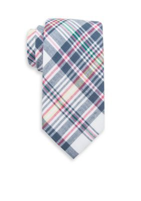 Saddlebred  Extra Long Asher Plaid Tie
