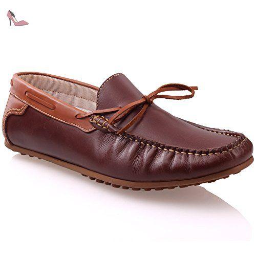 Unze De Giovini   slipons Mocassins en cuir Chaussures Hommes - Chaussures  unze london (  0abd498a962d