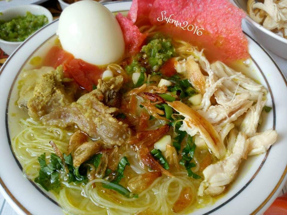 Resep Mie Sop Kampung Oleh Sukmawati Rs Resep Resep Masakan Makanan Masakan