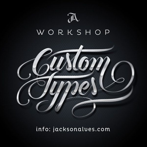 Custom Types – Workshop by Jackson Alves, via Behance | Typography ...