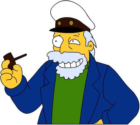 Captain Salbart - Wikisimpsons, the Simpsons Wiki