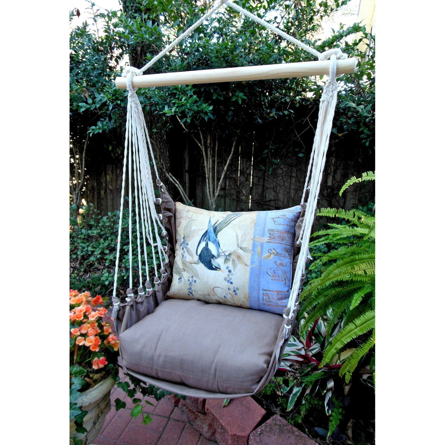 Outdoor magnolia casual bluejay hammock chair u pillow set chbvb
