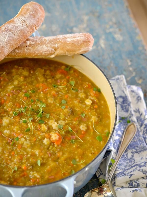 In snerpende koue weer is \u0027n vullende sop mos trooskos Food nom - why sop is used