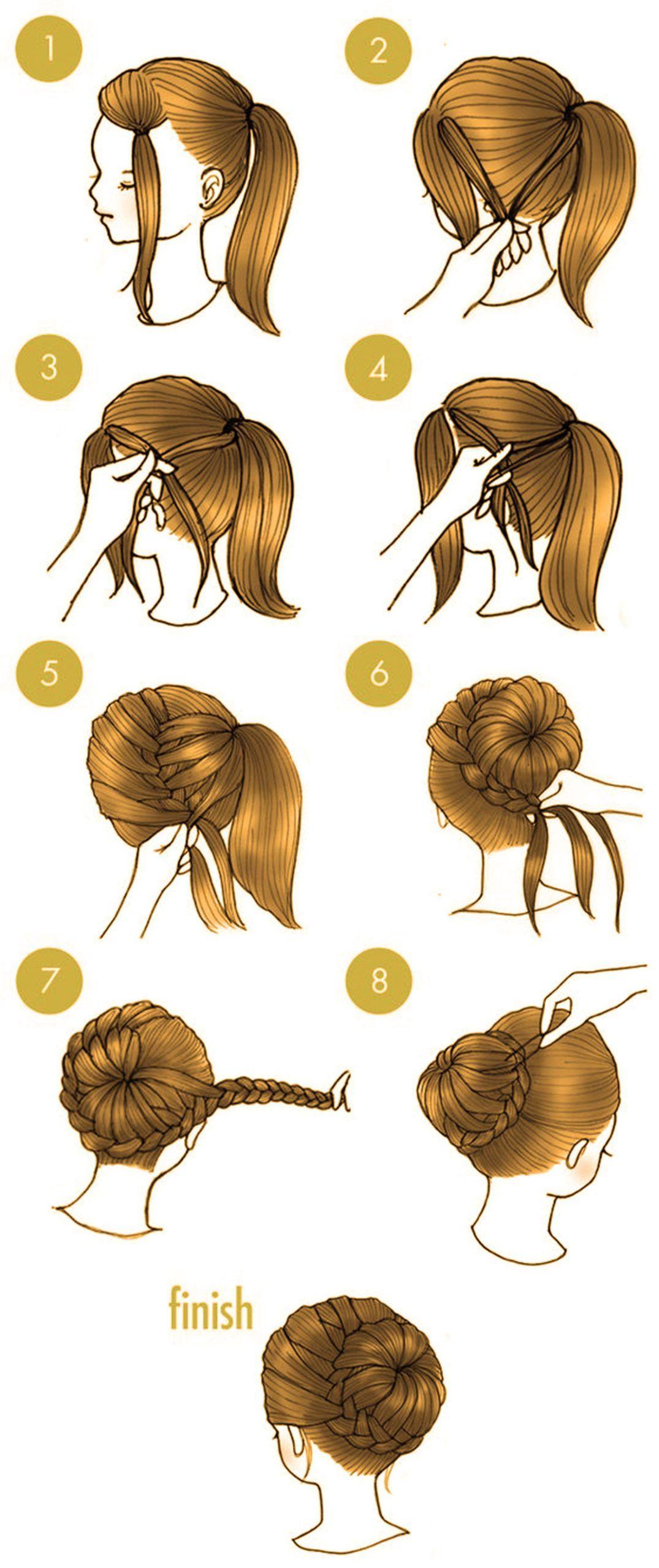 10 schnelle süße Frisuren, die nur 10 Minuten Ihrer Zeit in