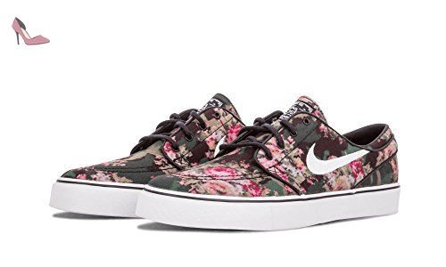 db9ad6f5fc9282 Nike Mens Zoom Stefan Janoski Pr MultiColorBlack Canvas Skateboarding Shoe      Check out the image by visiting the link. (This is an affiliate link)