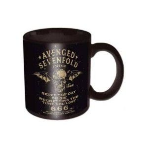 Avenged Sevenfold Sieze Day Box Mug Sieze The Day While You Fuel