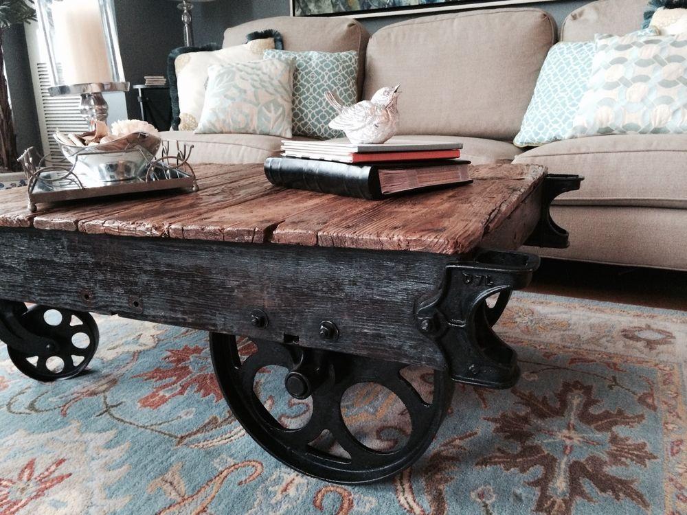 Factory Cart Coffee Tablebeach