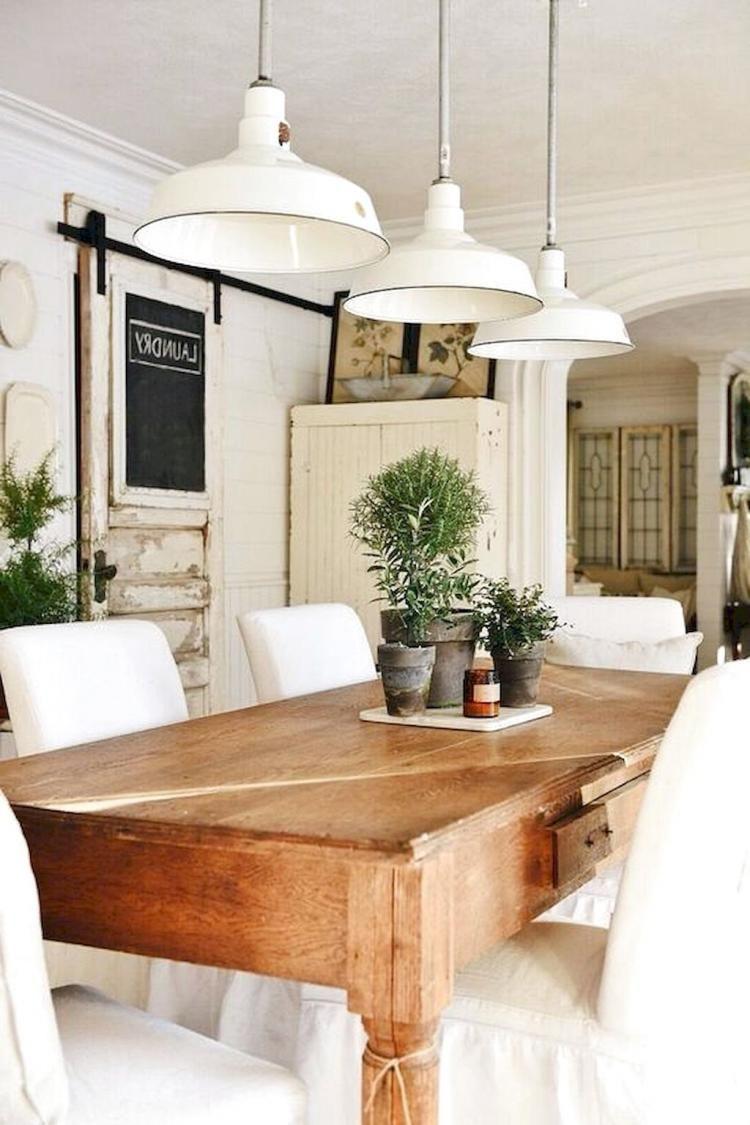 35 fabulous farmhouse dining room design ideas modern