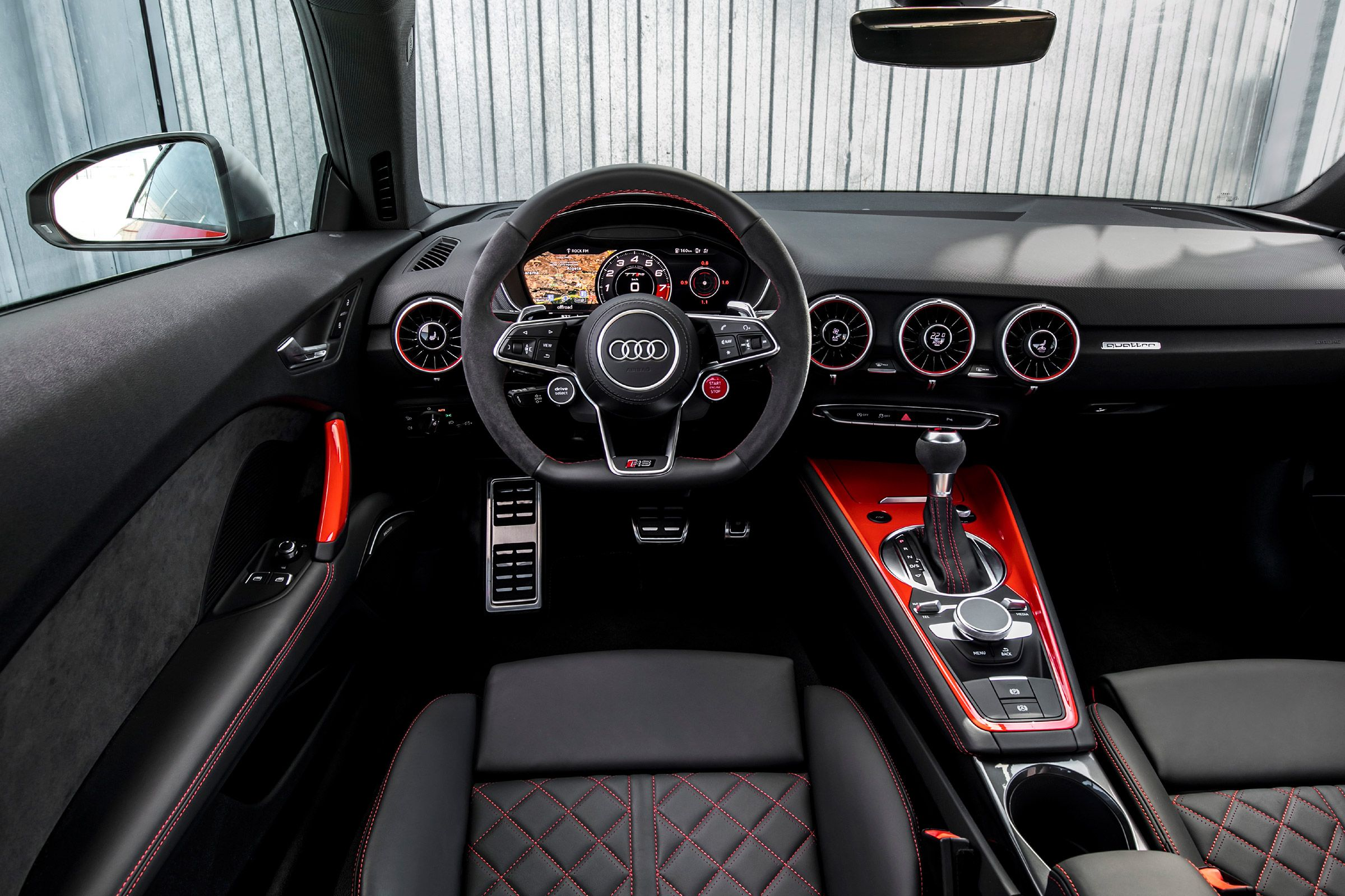 Audi Tt Rs 2016 Review Pictures Dash Auto Express