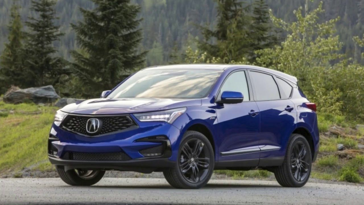 2019 Acura Rdx A Spec Package Branches Off The Tech Trim Level And Adds Acura Rdx Acura Infotainment