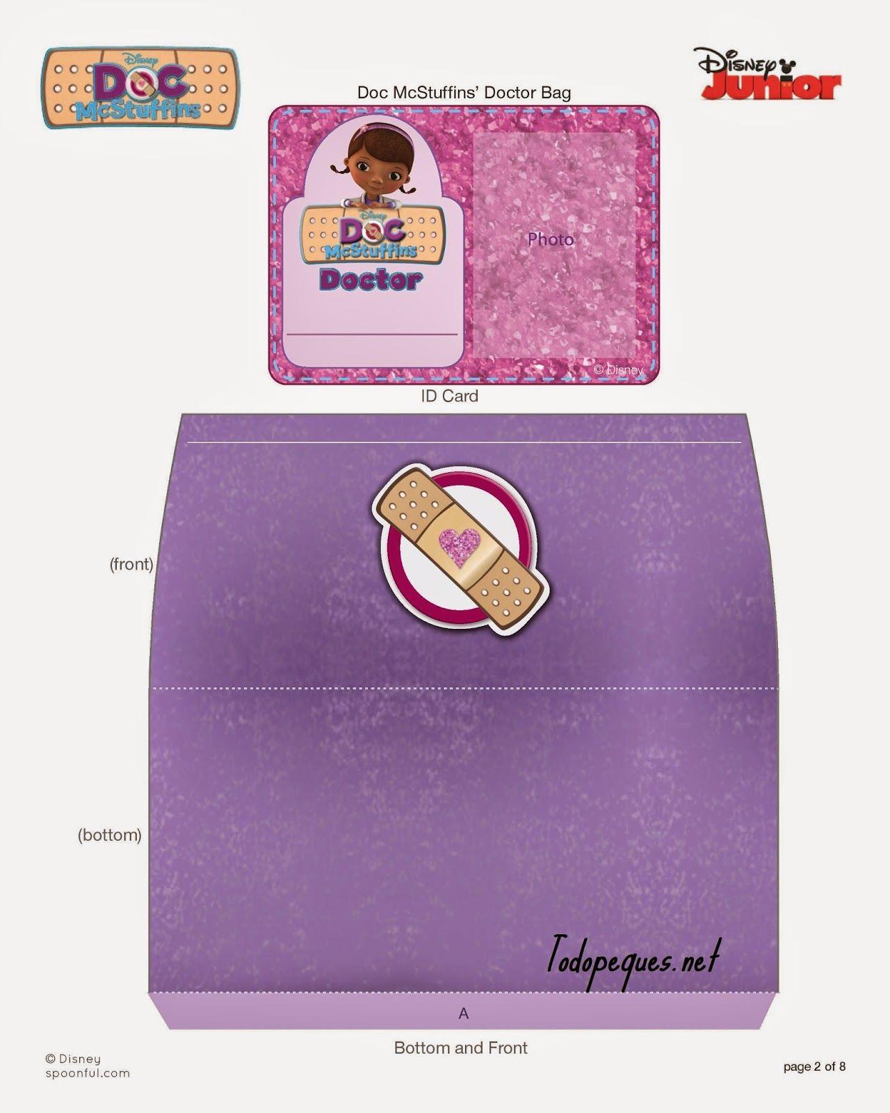 Doc Mcstuffins Doctor Kit Bandages Spf Printable 0312 Page 002 Jpg