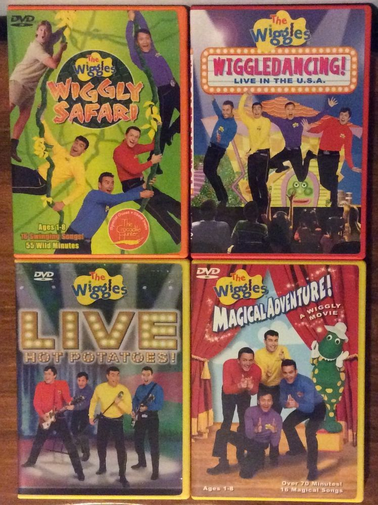 Details about Lot of 4 The Wiggles DVD's: Wiggle Time