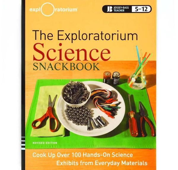 Hungry for science knowledge? Satisfy your craving with any of the activities in The Exploratorium Science Snackbook—a hands-on guide to creating junior version