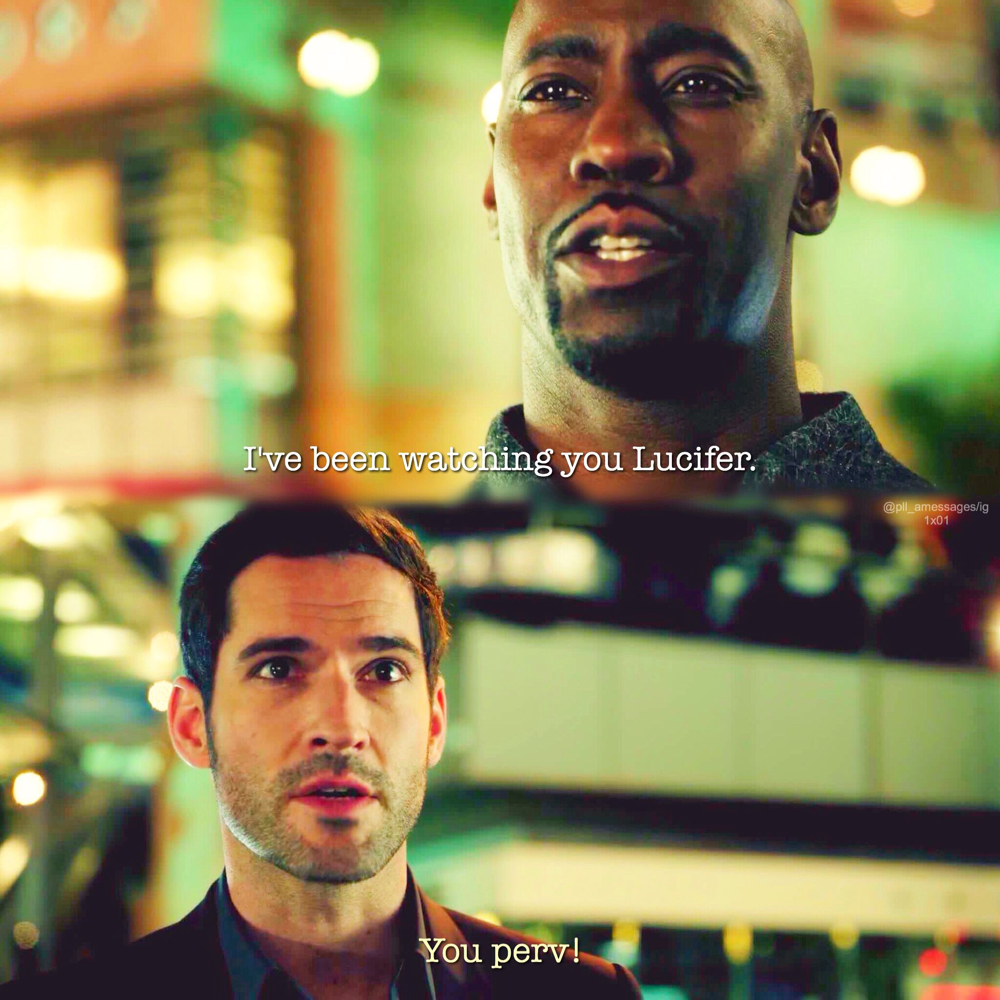 Tom Ellis Lucifer, Morning Star
