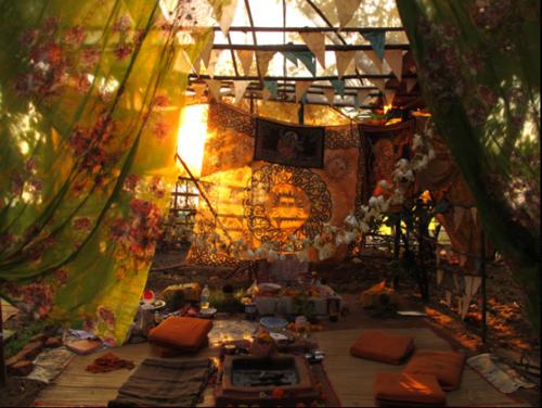 cool tent setup #gypsysetup