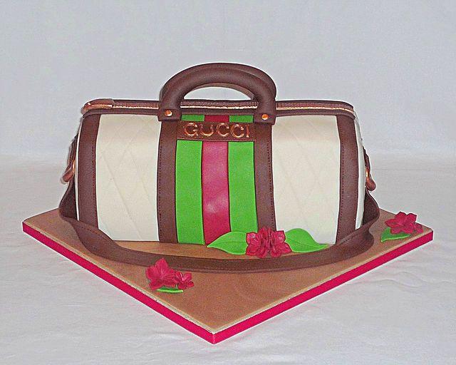 Gucci Handbag Cake By Eva Rose Cakes Birthday Cakes By Eva Rose