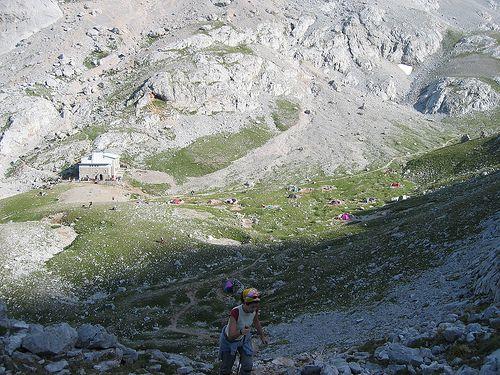 Refugio Delgado Úbeda, Naranjo de Bulnes, Asturias