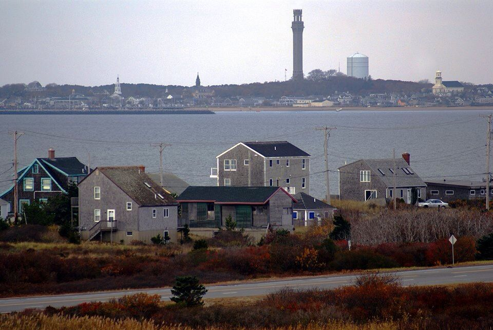 View From High Head Bluff Provincetown Provincetown Cape Cod Nantucket