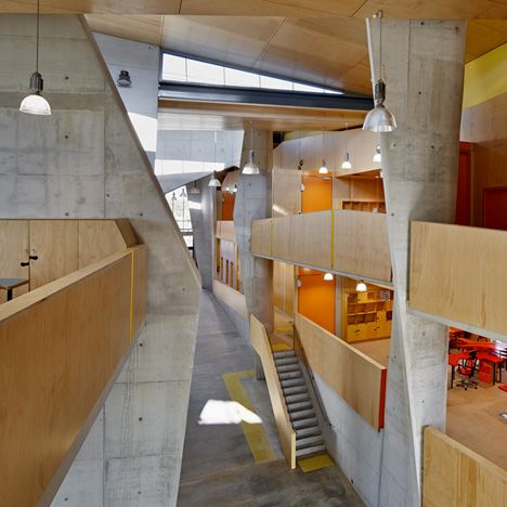 Abedian School Of Architecture By CRAB Studio Was Designed From The Inside