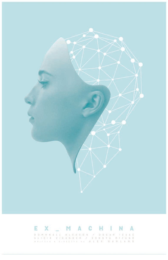 Ex Machina Film Poster #filmposterdesign