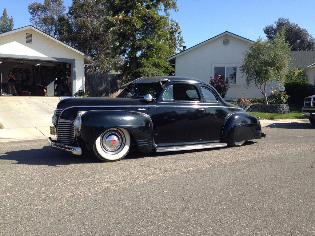 Projects my 41 plymouth coupe build