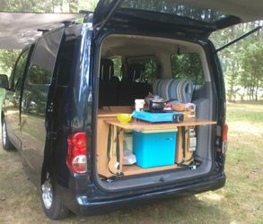 Superbe Kitchen To Go; Trunk Set Up For Car Or Van Camping | Zen Adventure Van Page