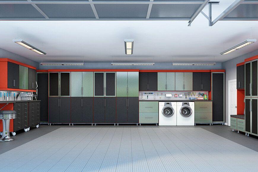 29 Garage Storage Ideas Plus 3 Garage Man Caves Garage Storage Closet Factory Garage Design