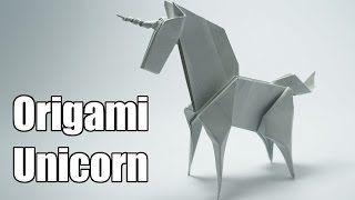Origami Unicorn (Jo Nakashima)